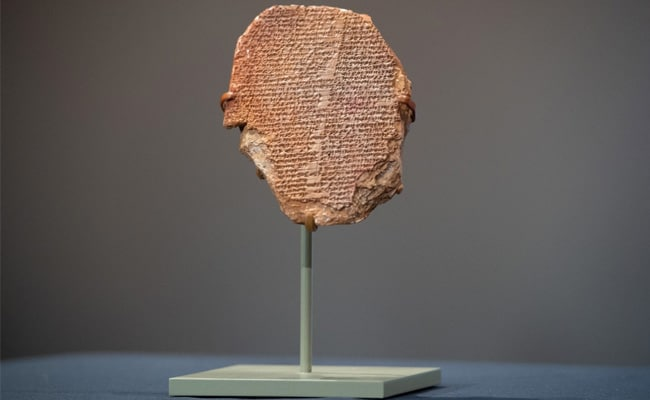 'A Tale Of Epic Proportions': US Returns Ancient Gilgamesh Tablet To Iraq