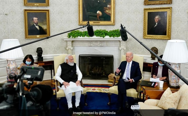 Indian Press 'Much Better Behaved' Than US Press: Biden At Meet With PM
