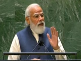 """Video : """"Those Using Terrorism As Political Tool..."""": PM's Dig At Pak In UN Speech"""