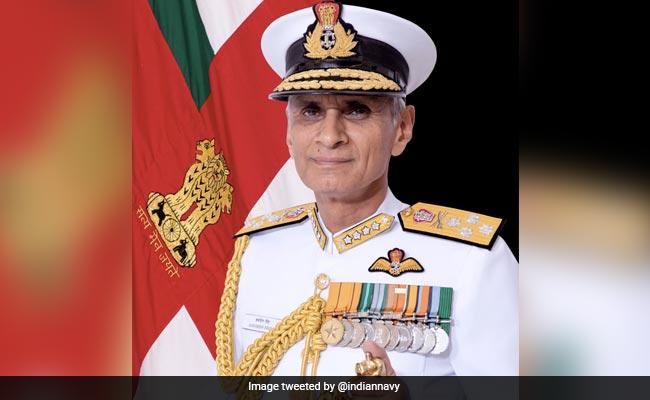 Navy Chief Admiral Karambir Singh Arrives In Oman On 3-Day Visit