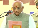 Video : Gujarat Cabinet Oath Deferred, Sources Hint At Differences Over Names