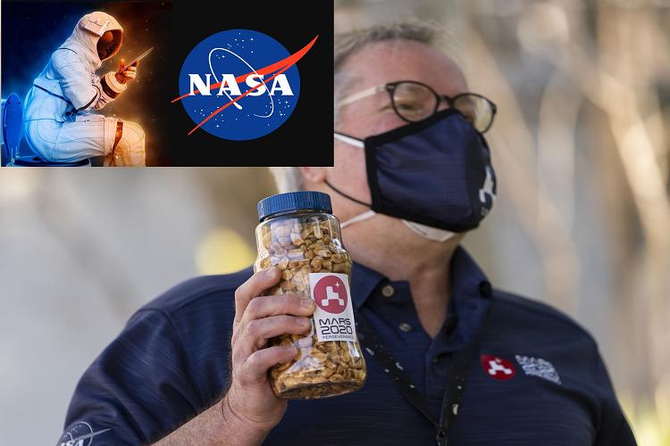 मिशन के दौरान नासा के सभी वैज्ञानिक मूंगफली क्यों खाते हैं?