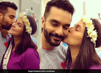 Neha Dhupia's Midnight Snack Is This Soft And Buttery Breakfast Food; Guess What It is