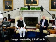 "Indian Press ""Much Better Behaved"" Than US Press: Biden At Meet With PM"