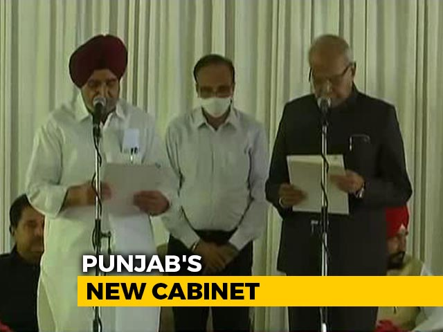 Video : Punjab Announces Chief Minister Charanjit Channi's New Team