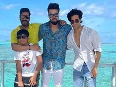 """Ajay Devgn Is Celebrating Son Yug's Birthday With An """"All Boys Party"""""""