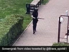 8 Killed In Russia Shooting, Video Shows Gunman Walking Through Campus