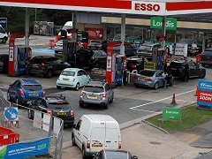 BP Says Nearly A Third Of Its UK Fuel Stations Running On Empty