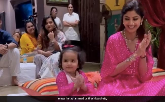 Daughter's Day 2021: In Which Shilpa Shetty Is Samisha's Loudest Cheerleader. They Are BFFs After All