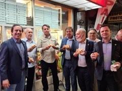 For Brazil's Bolsonaro, Unvaccinated, Pizza For Dinner On New York Street