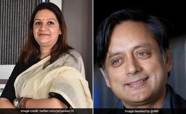 Shashi Tharoor, Priyanka Chaturvedi Turn Hosts For New Parliament Channel