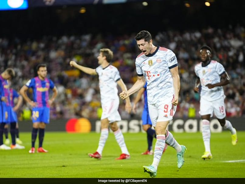 Robert Lewandowski At The Double As Bayern Munich Outplay Barcelona Again