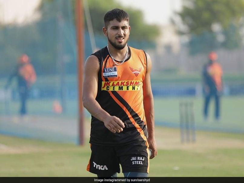 IPL 2021: Pacer Umran Malik Joins SunRisers Hyderabad As Short-Term COVID-19 Replacement For T Natarajan