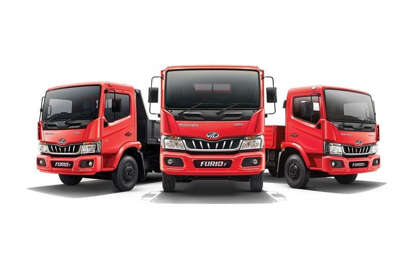 The new Mahindra Furio 7 is part of the company's Furio range of Intermediate & Light Commercial Vehicles