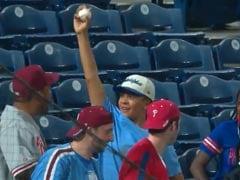 Watch: Baseball Fan Catches Foul Ball. What He Does Next Is Heartwarming