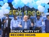 Video : Sensex Ends Above 60,000, Markets Scale Record Highs For Second Straight Session