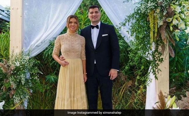 Inside Tennis Star Simona Halep's Wedding To Toni Iuruc