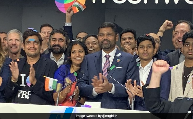 ''A Dream Come True'': Freshworks CEO After Company Gets Listed On Nasdaq
