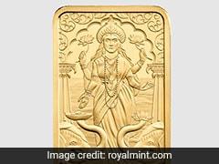 UK's Royal Mint Releases Gold Bar With Goddess Lakshmi On It For Diwali