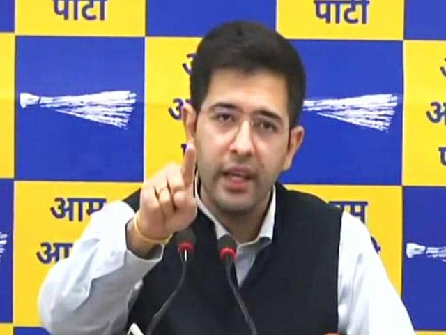 """Video : """"Love Letter From Favourite Agency"""": AAP On Enforcement Directorate Notice"""