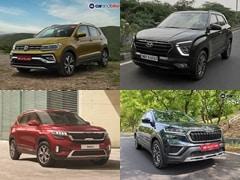 Volkswagen Taigun vs Skoda Kushaq vs Hyundai Creta vs Kia Seltos: Specifications Comparison