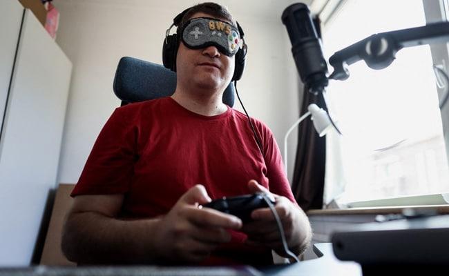 ब्लाइंड वीडियो गेम चैंपियन स्ट्रीमिंग प्लेटफॉर्म ऑडियंस पर ले जाता है