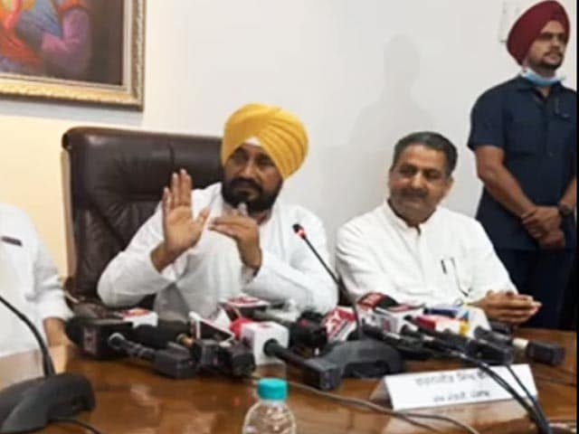 Video : We Can Fix This, Says Punjab Chief Minister To Navjot Sidhu