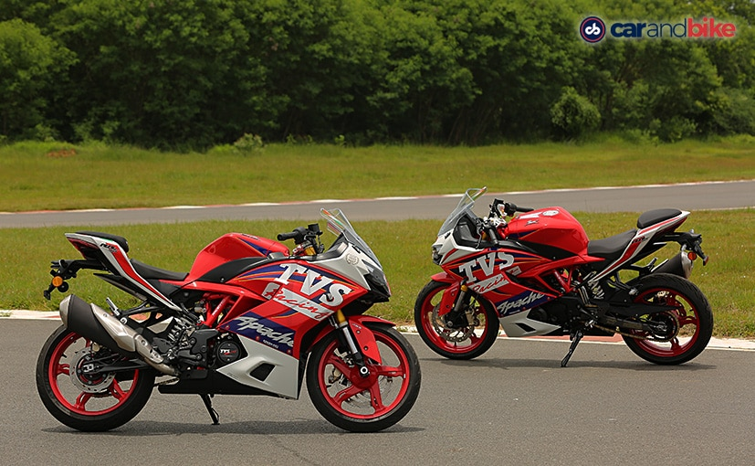 2021 TVS Apache RR 310 BTO Sold Out In The First Month Of Launch