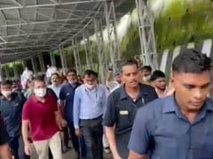 "Rahul Gandhi Walks 14 KM to Vaishno Devi, Says ""No Political Comments Here"""