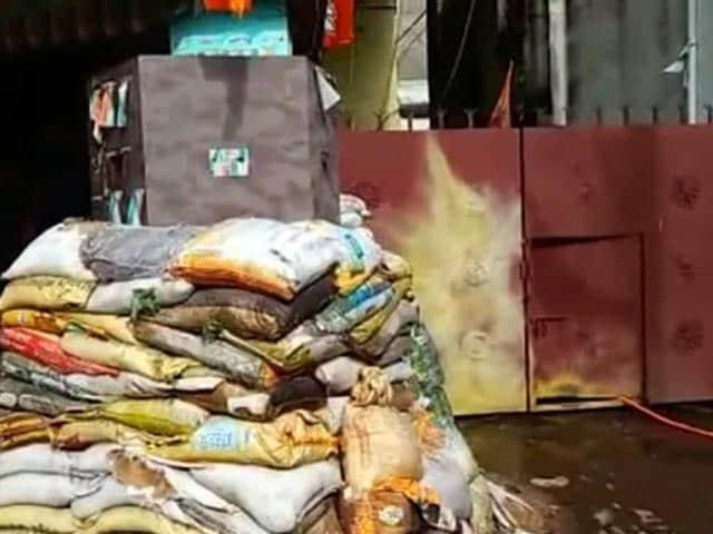 Video : 3 Bombs Thrown At BJP MP's Home Near Kolkata, Party Blames Trinamool