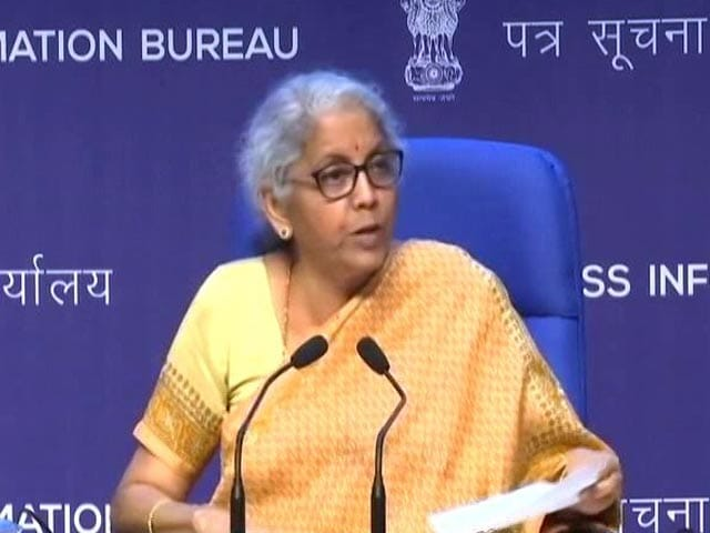 Video : Cabinet Clears Government Guarantee Of Rs. 30,600 Crore For Bad Bank