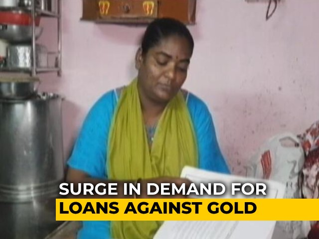 Video : Amid Job Losses, People Turn To Gold Loans