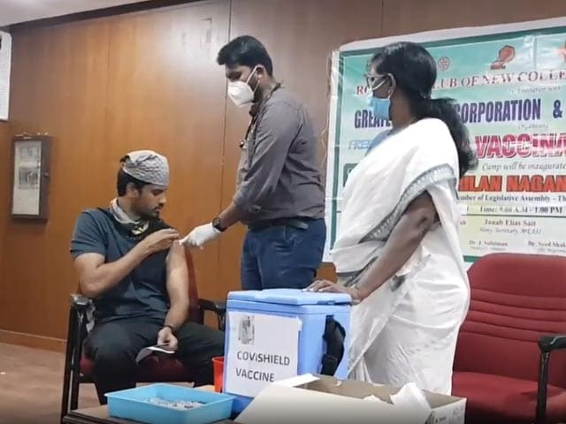 Video : College Campuses Turn Into Vaccination Centres For Students In Tamil Nadu