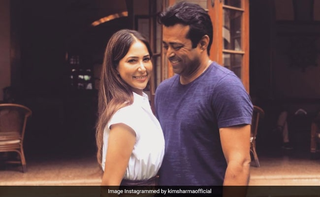 Kim Sharma And Leander Paes Make It Instagram Official. The Internet Can't Keep Calm
