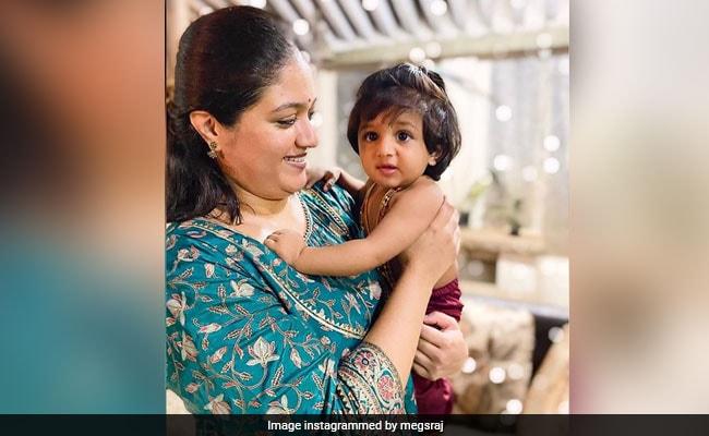 Meghana Raj Remembers 'King' Chiranjeevi Sarja As She Reveals Son's Name - Raayan Raj Sarja
