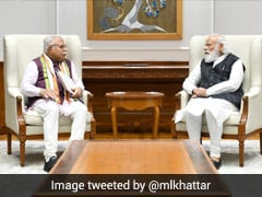 """""""Invited Him To Come To Haryana"""": ML Khattar Meets PM On Eve Of Birthday"""