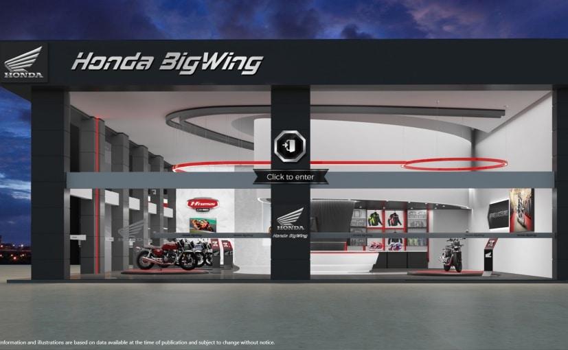 Honda's virtual showroom for its premium motorcycle range is now online