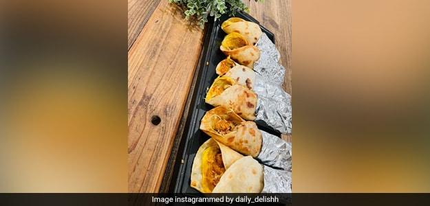 Mumbai Style Chicken Frankie