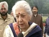 """Video : """"Punjab Chief Minister Must Be Sikh Leader"""": Ambika Soni Rejects Offer"""