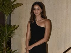 Trust Ananya Panday To Add Her Bubbly Charm To Any Minimalist Black Outfit