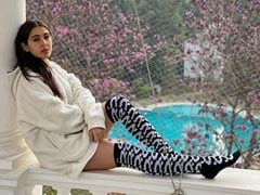Sara Ali Khan Received A Warm Welcome From A Furry Friend. Pic Inside