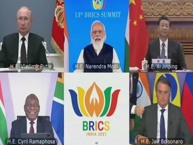 Video : BRICS Leaders Call For Settling Afghan Situation By Peaceful Means