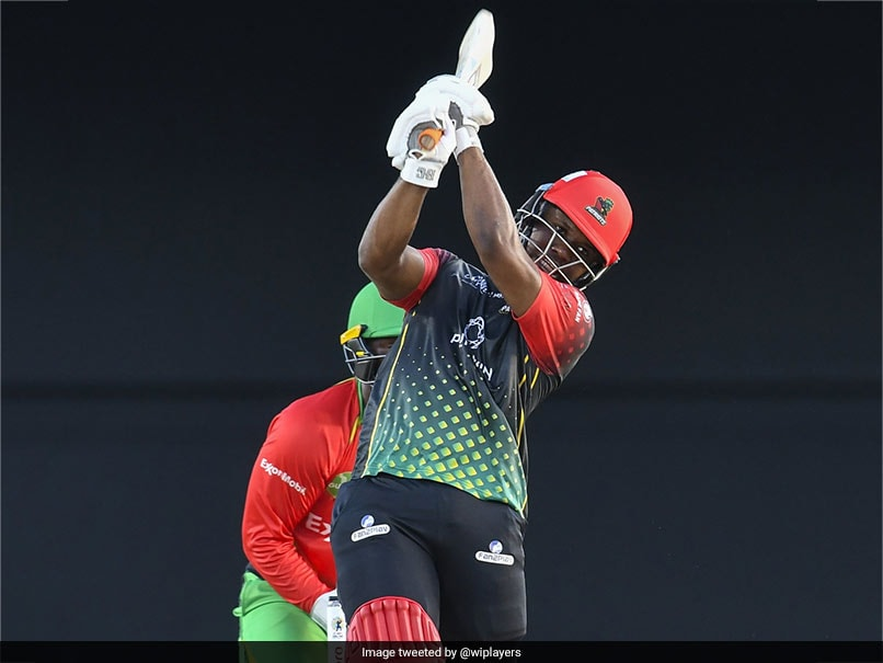 CPL: Evin Lewis, Chris Gayle Power St Kitts And Nevis Patriots To Final vs St Lucia Kings
