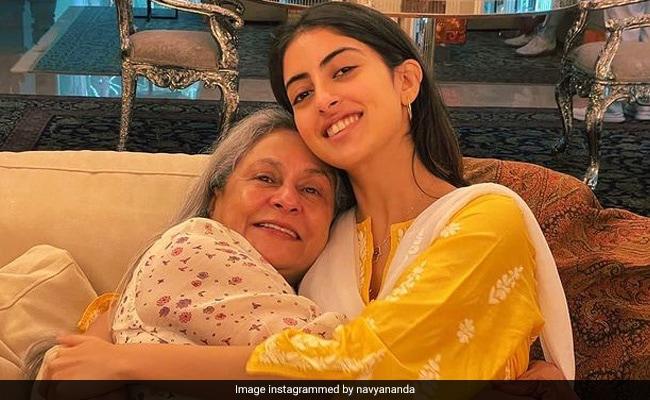 The Internet Is All Hearts For This Pic Of Navya Naveli Nanda With Nani Jaya Bachchan