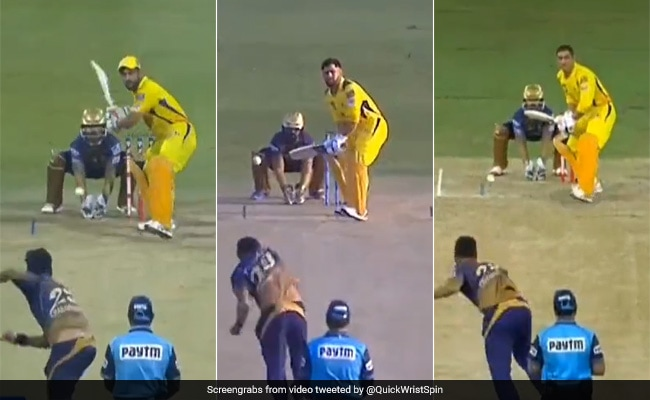 IPL 2021 Varun Chakrabortys mystery ball has become a wonderful puzzle for Dhoni, defeat times are bold watch video