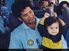 """""""I Am So Proud Of You..."""": Sachin Tendulkar Posts Throwback Photo With Sara On Daughters' Day 2021"""