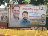 Video : Kanhaiya Kumar In 'Welcome To Congress' Posters Ahead Of Joining Today