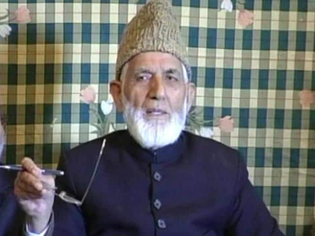 Video : Syed Ali Shah Geelani, Face Of Kashmiri Separatist Politics, Dies At 92