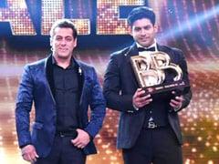 """To Sidharth Shukla From <i>Bigg Boss</i> Host Salman Khan: """"Gone Too Soon"""""""