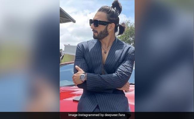 Ranveer Singh's Double Ponytail Goes Viral. Memes Incoming On Twitter